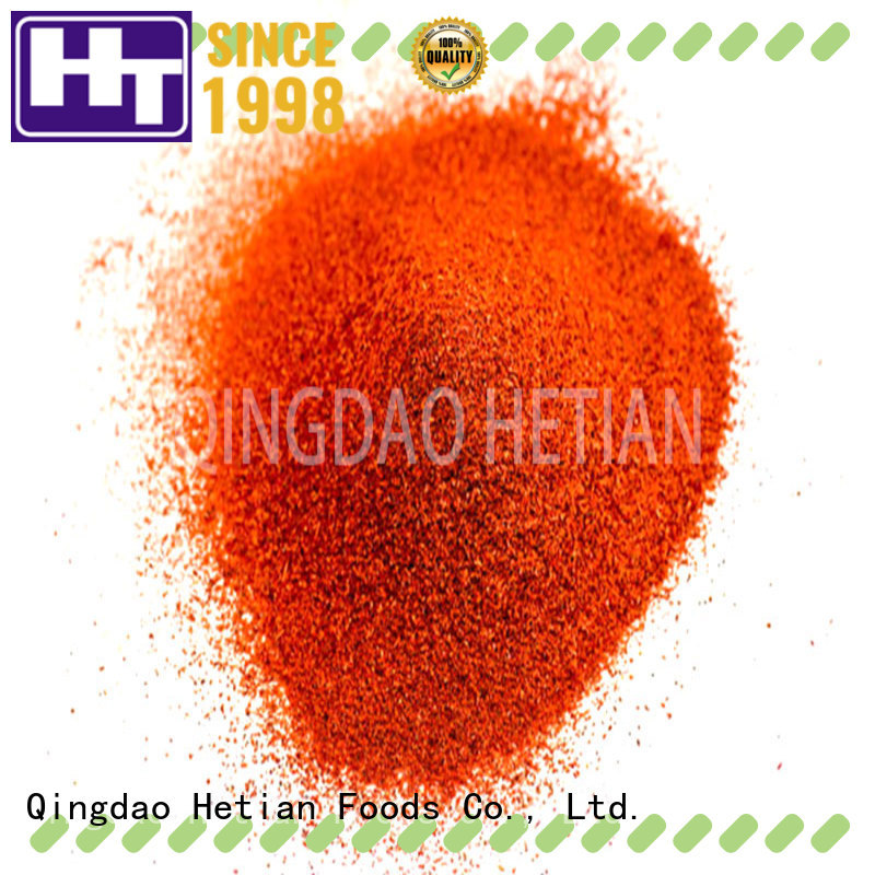 Hetian paprika powder manufacturer for wedding