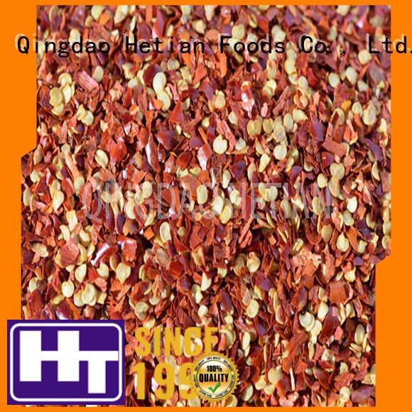 Hetian safe chilli spices wholesale for cafe shop