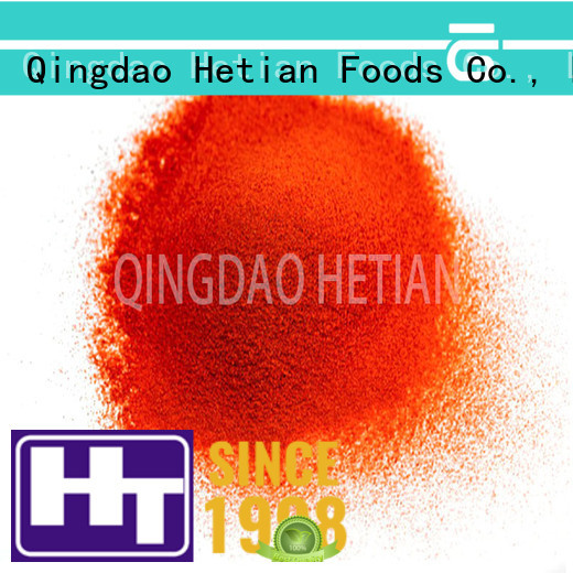 Hetian natural crushed chilli supplier for home