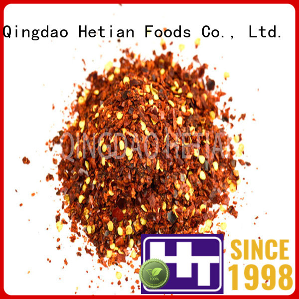 natural crushed chili flakes factory price for cafe shop