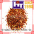 Hetian dried chilli flakes supplier for restaurant