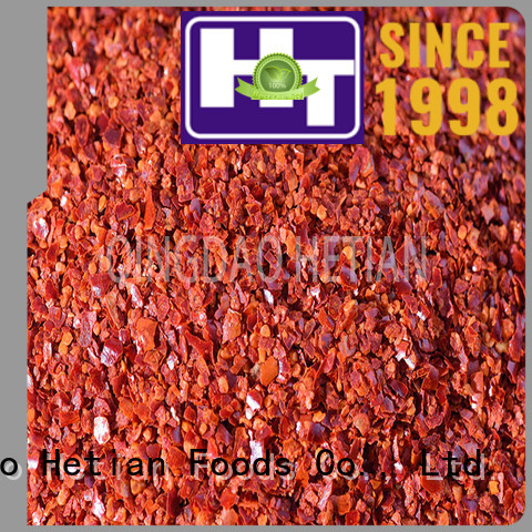 Hetian 60mesh pure chili powder directly sale for restaurant