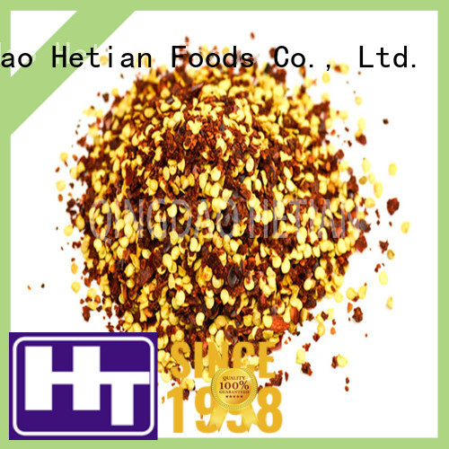 Hetian natural crushed chili pepper factory price for home