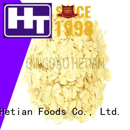 Hetian dried garlic flakes manufacturer for restaurant
