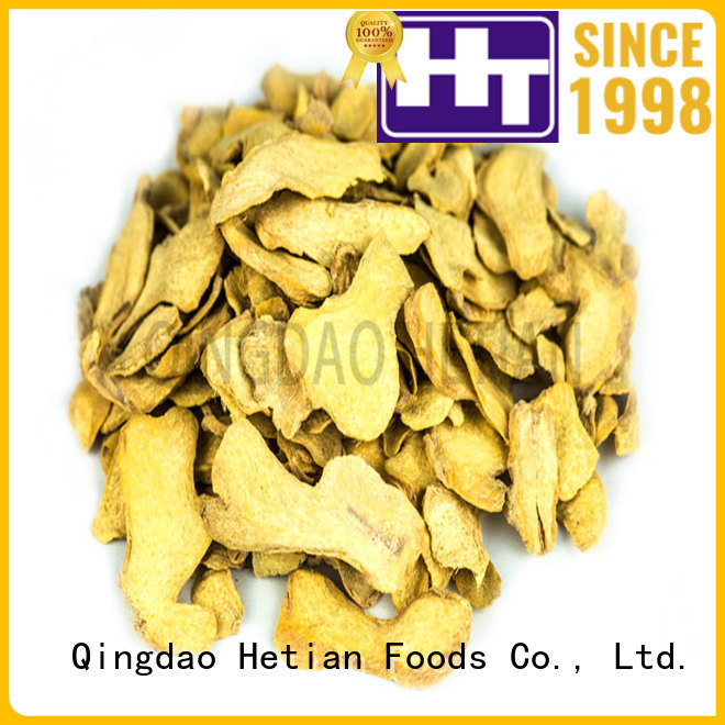 Hetian ginger flakes wholesale for restaurant