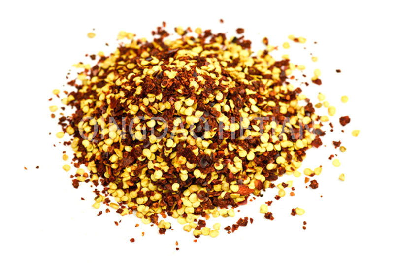 Chilli Crushed Flakes 2-4mm with 40% Seeds