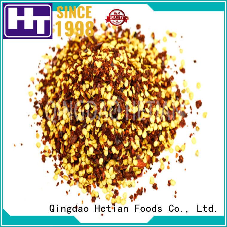 Hetian pepper flakes supplier for hotel