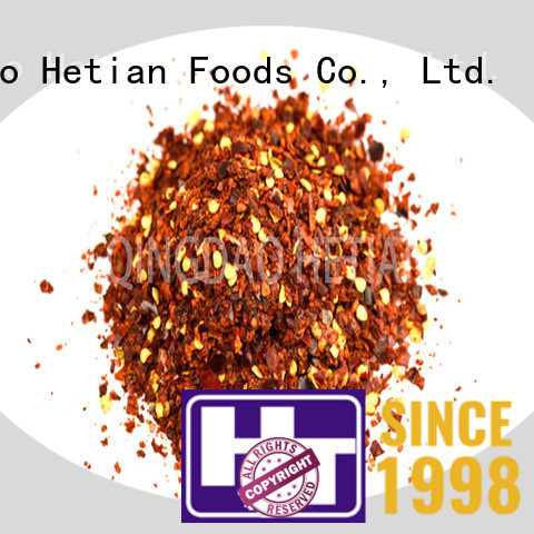 Hetian healthy pepper flakes directly sale for cafe shop