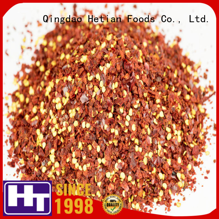 Hetian safe dried chili peppers wholesale for cafe shop