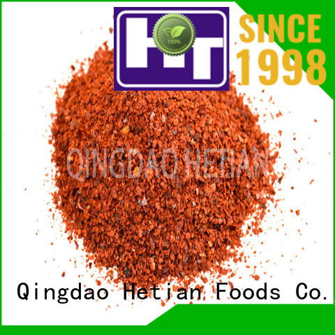 organic paprika flakes from China for dining