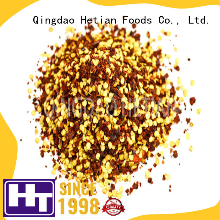 natural dried red pepper flakes factory price for hotel