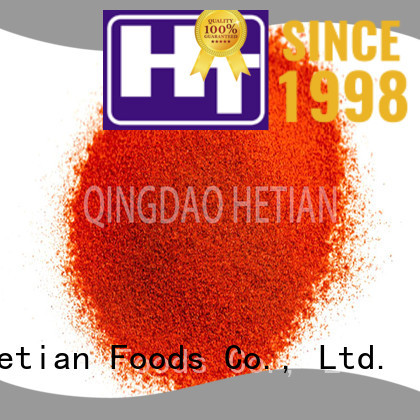 organic paprika spices promotion for food
