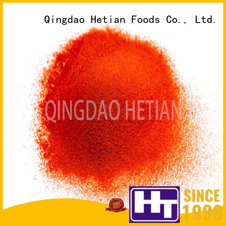 Hetian pepper flakes supplier for restaurant