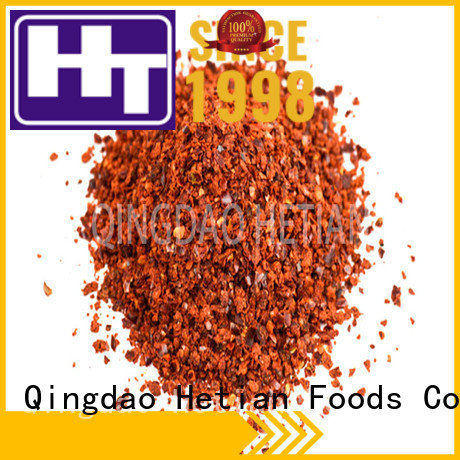 Hetian natural crushed peppers wholesale for cafe shop