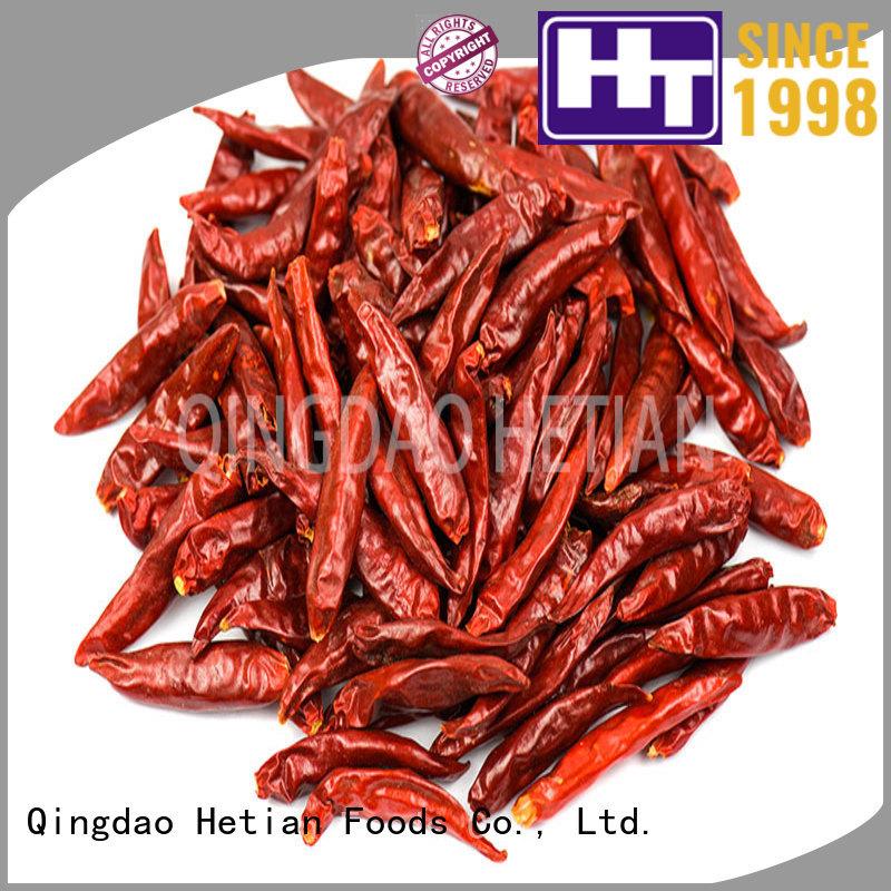Hetian safe chili pepper flakes wholesale for restaurant