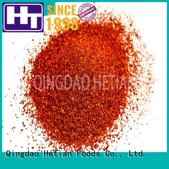 Hetian safe chilli spices wholesale for hotel