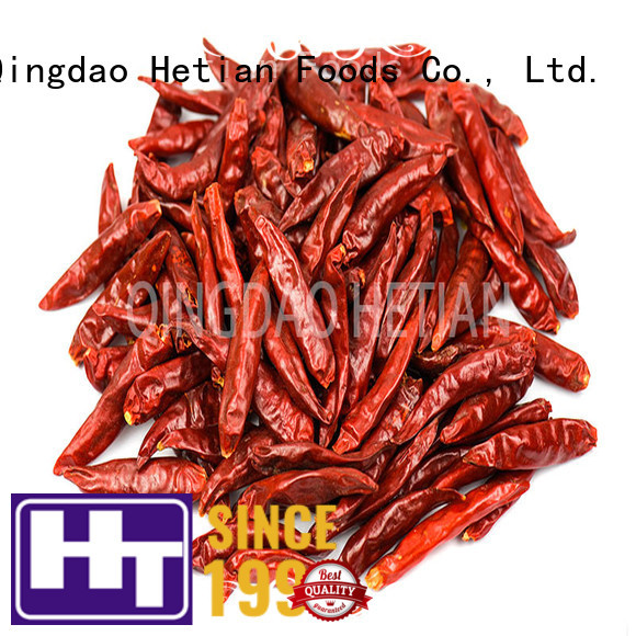 Hetian healthy dried red pepper flakes directly sale for hotel