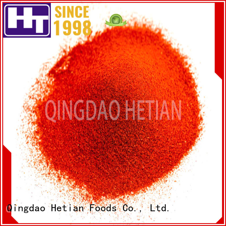Hetian high quality smoked paprika powder promotion for wedding