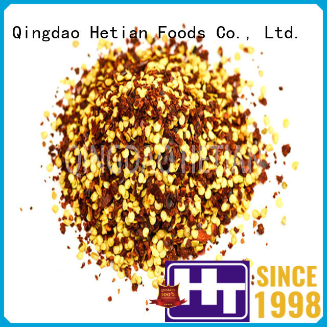 Hetian natural red chili flakes 24mm for hotel