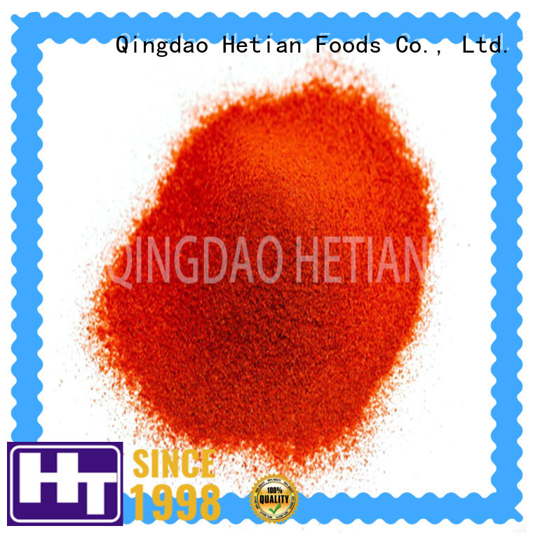 high quality smoked paprika flakes from China for dining Hetian