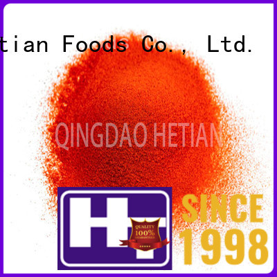 Hetian natural crushed peppers wholesale for hotel