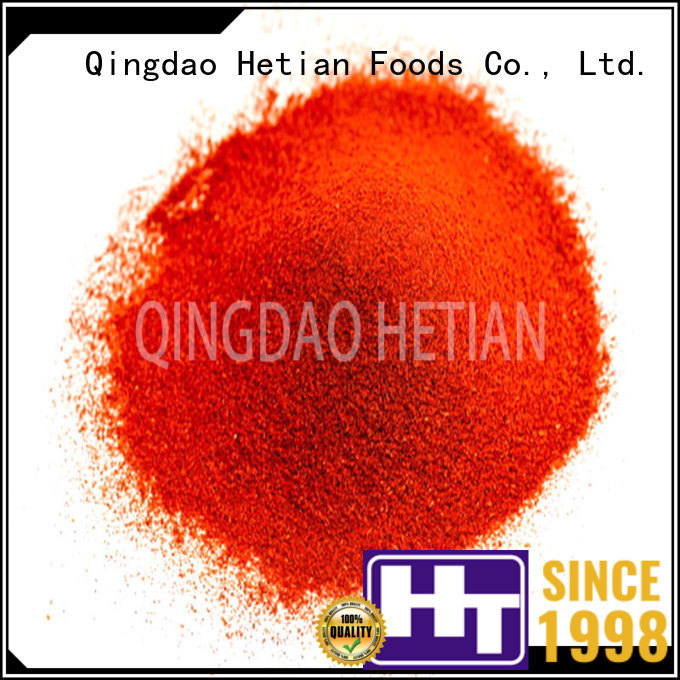 Hetian organic crushed paprika on sale for dining