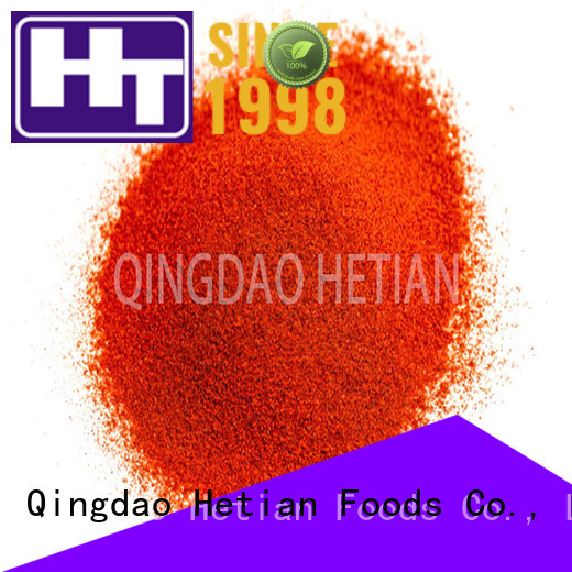 Hetian organic paprika flakes from China for party