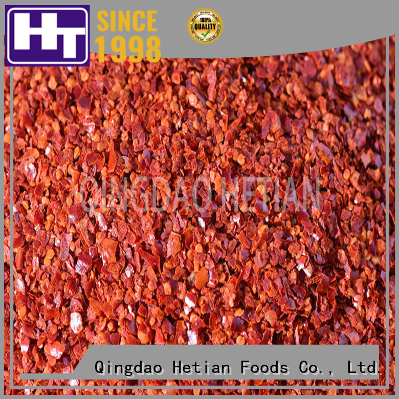 good qualitychile flakes factory price for restaurant