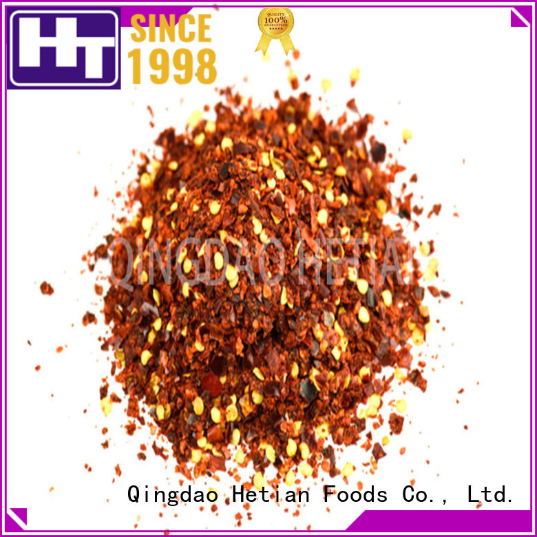 Hetian healthy crushed chilli supplier for home