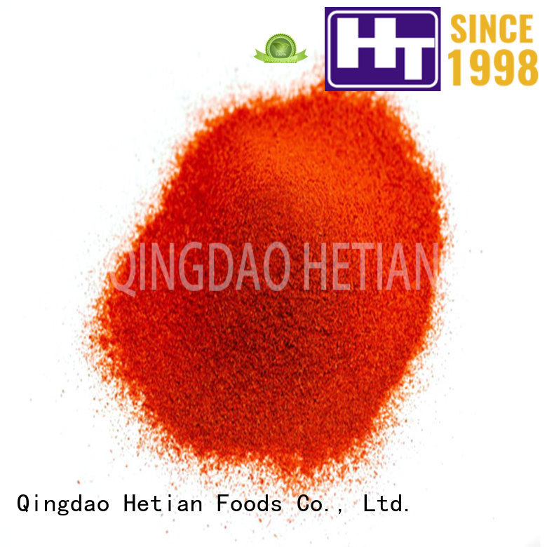 Hetian high quality crushed paprika manufacturer for food