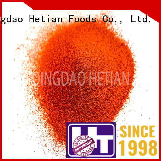 Hetian paprika powder manufacturer for party