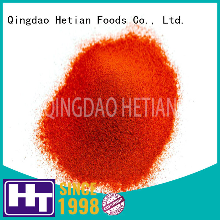 Hetian organic crushed paprika promotion for food
