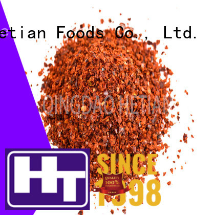 good quality crushed pepper flakes factory price for restaurant