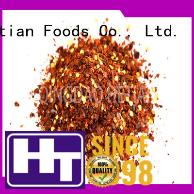 Hetian crushed chili flakes supplier for restaurant