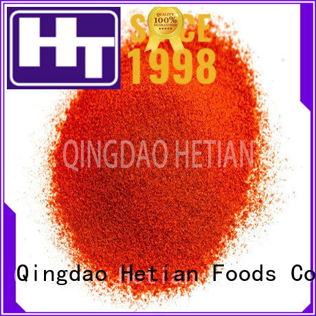 Hetian organic paprika powder on sale for party