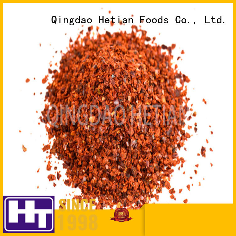 good quality crushed pepper flakes factory price for cafe shop