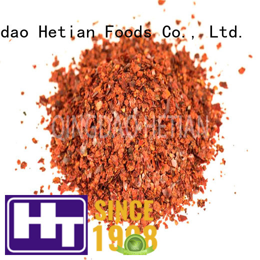 Hetian safe chili pepper powder factory price for cafe shop