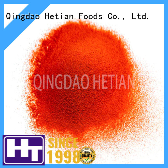 Hetian good quality dried chilli flakes supplier for cafe shop