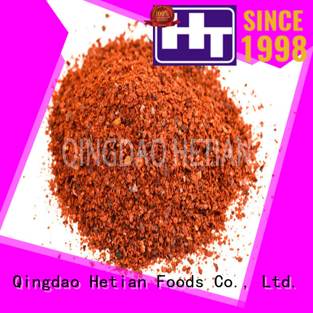 Hetian high quality paprika flakes from China for dining