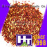 Hetian natural chili pepper flakes wholesale for cafe shop