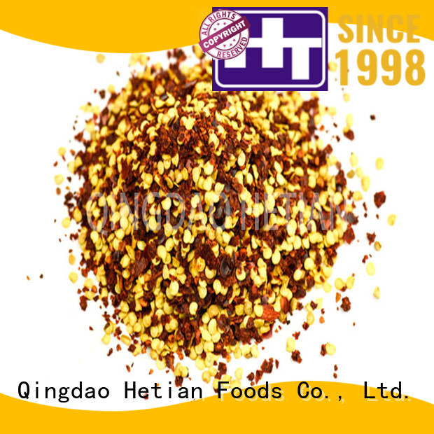 healthy crushed chilli wholesale for hotel