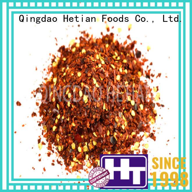 Hetian safe chili pepper powder wholesale for restaurant