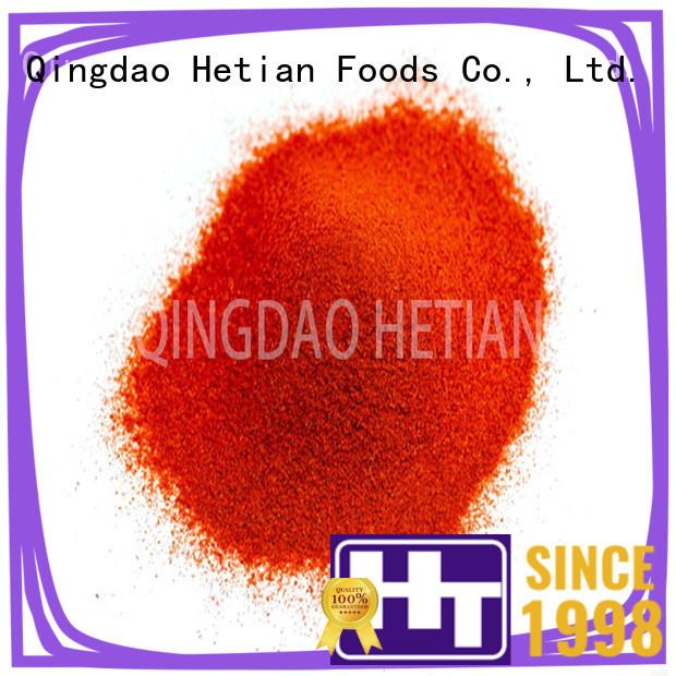 Hetian natural crushed paprika promotion for food