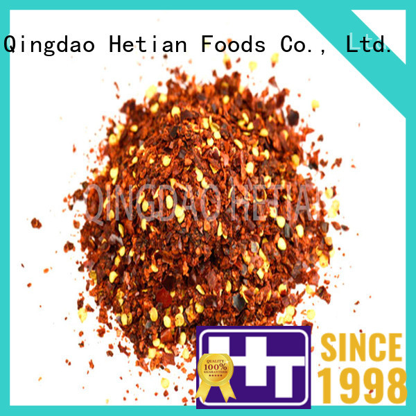 healthy dried crushed red pepper wholesale for cafe shop