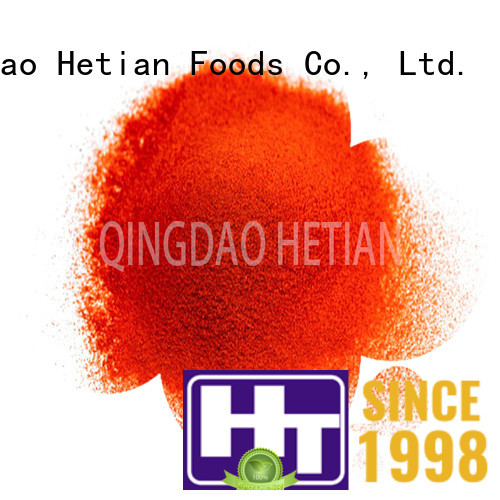 Hetian crushed chili pepper directly sale for cafe shop