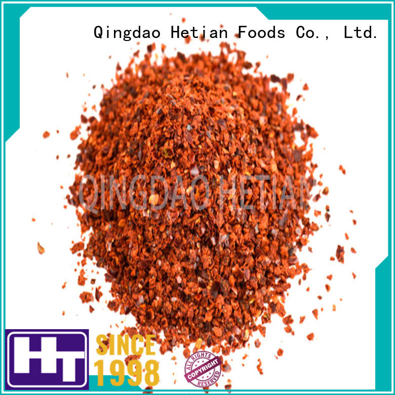 natural crushed pepper flakes factory price for restaurant