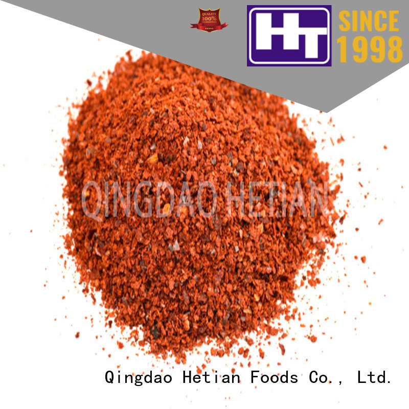 Hetian crushed paprika manufacturer for party