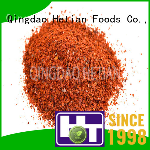 crushed dried paprika 80asta for party Hetian