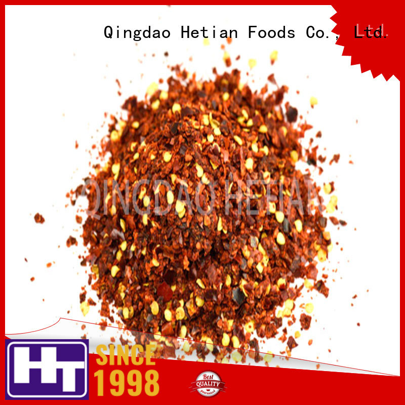 Hetian dried red pepper flakes directly sale for restaurant