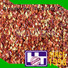 24mm dried red pepper flakes factory price for cafe shop Hetian